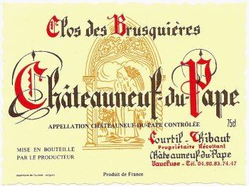 Clos des Brusquieres 2017 Châteauneuf-du-Pape