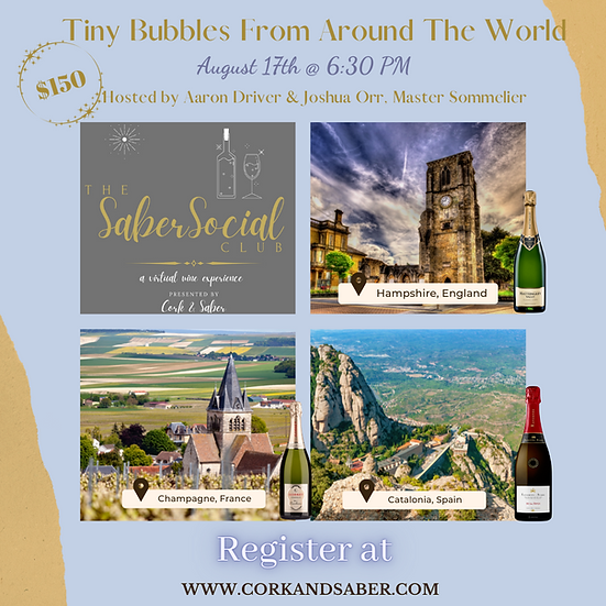 Virtual Wine Experience Event