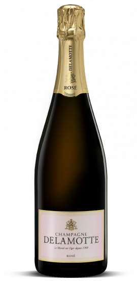 Champagne Delamotte Rosé NV