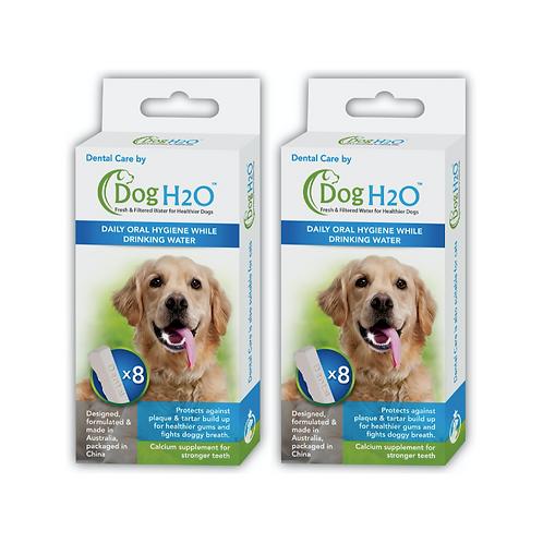 Dental Care by Dog H2O / Cat H2O (Twin Packs)