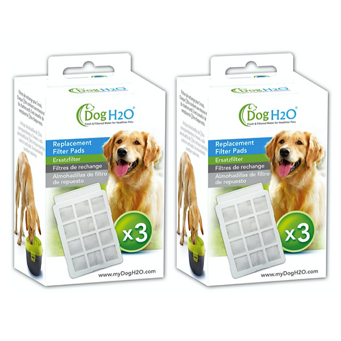 Filter Pads (Twin Packs) for Cat H2O & Dog H2O