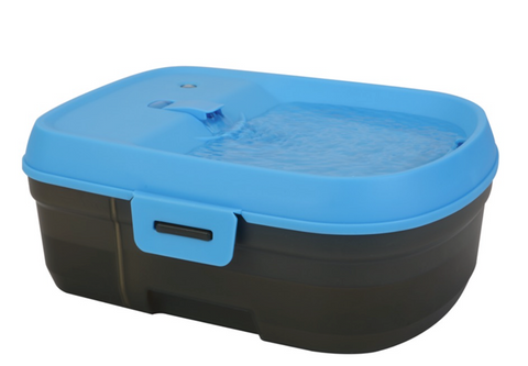Dog H2O Cordless  No wires, no limits. Place it anywhere! There are no cords for puppies or playful dogs.