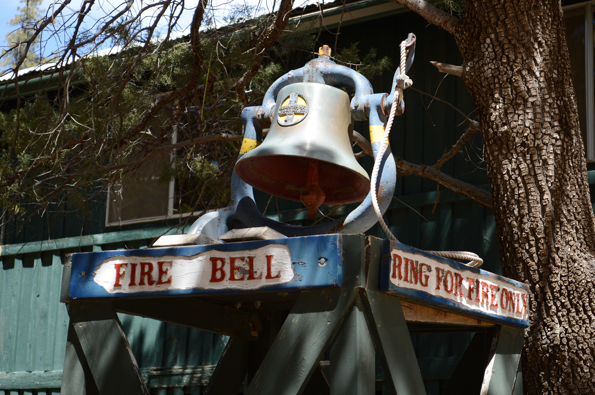 fire bell from old site 5 x 7