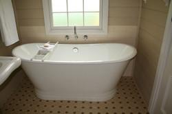 Gorgeous cast iron bath
