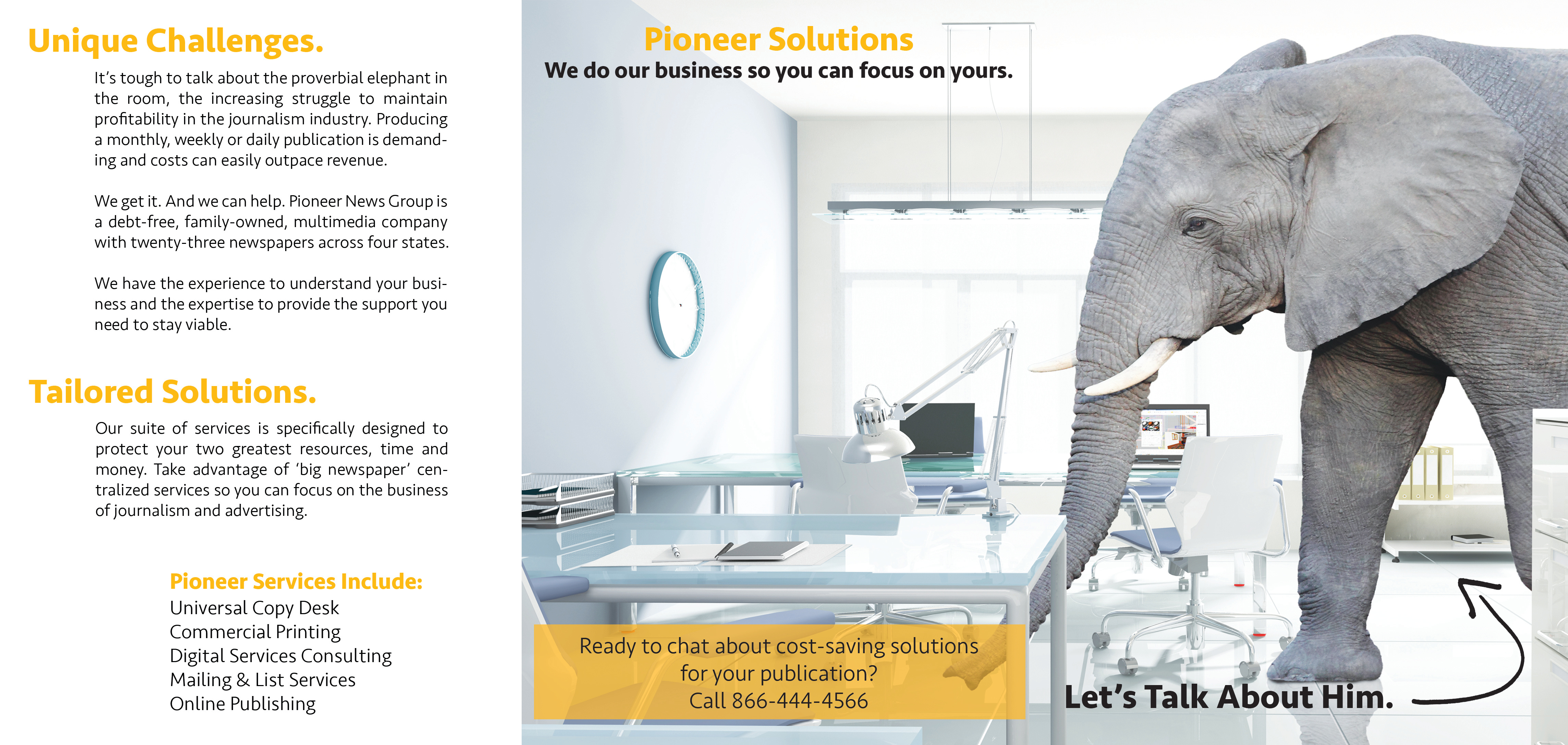 Copy Desk Services Ad