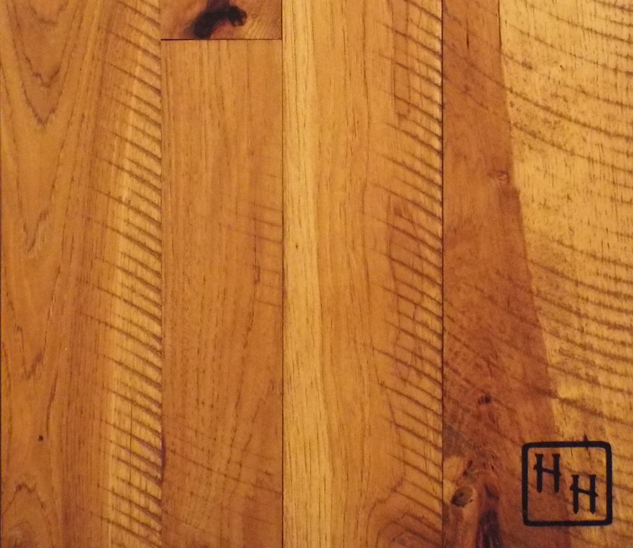 Hickory - Skip Sawn - Nutmeg