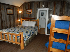 Resort Cabins with Bunk Beds