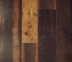 Oak- Weathered- Stained with Bevel