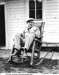 1900's - Mr. Jack Allen, proprietor of Cosmopolitan Hotel