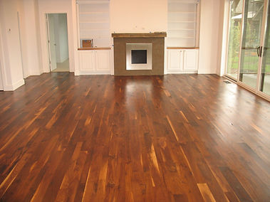 Sand and Finish Wood Floors in Bozeman