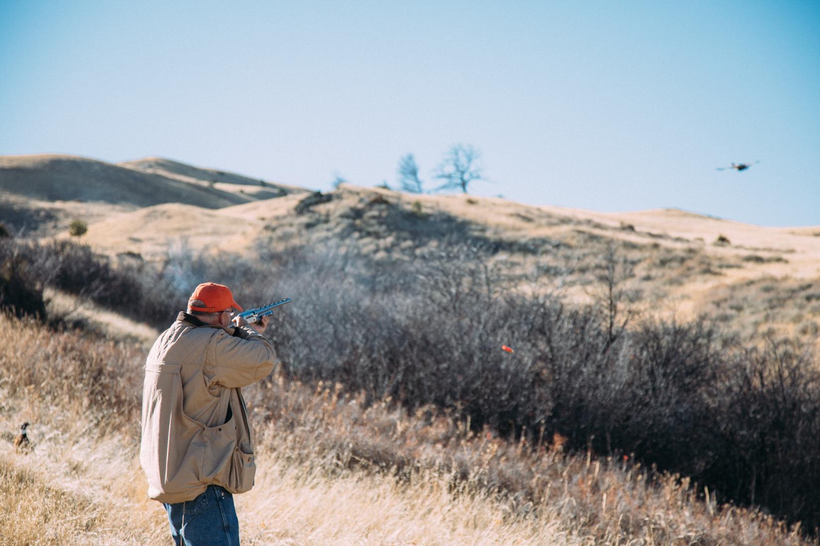 Good shot pheasant hunting