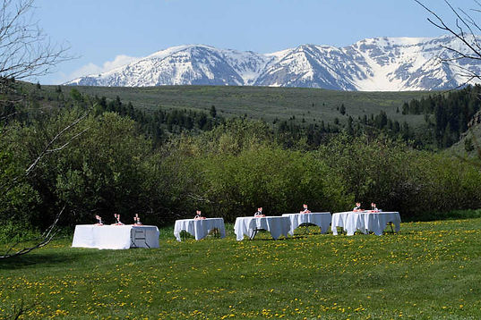 Montana Mountain Wedding Venue