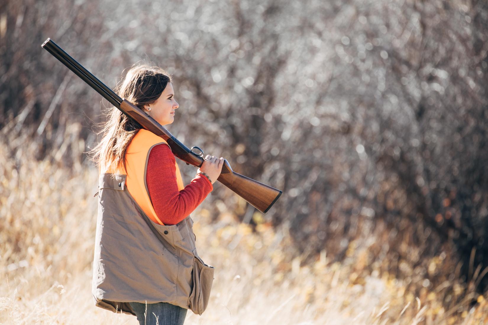 Bird hunt in Montana
