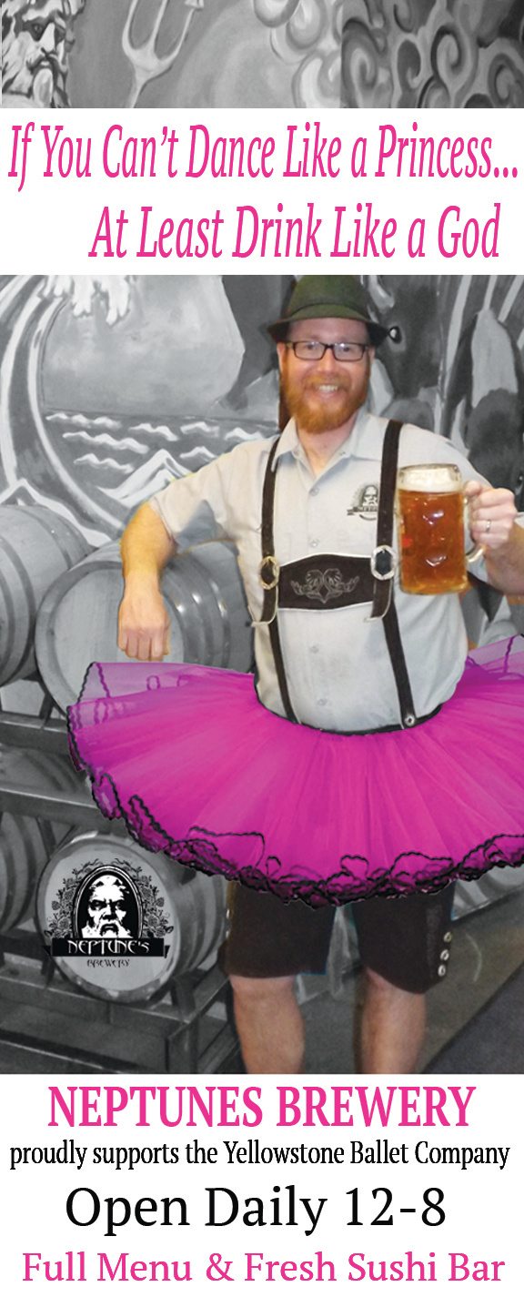 Neptunes Brewery Ad Design