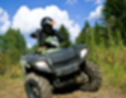 Offroading ATV Around Yellowstone NAtional Park