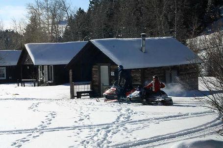 Montana Snow Mobile Cabins