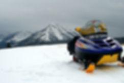 Remote Montana Snow Mobile Cabins