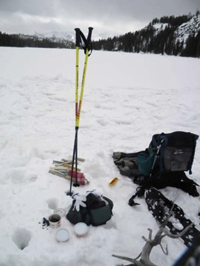 ICE FISHING Around Yellowstone NAtional Park