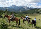 Horseback Riding in Montana