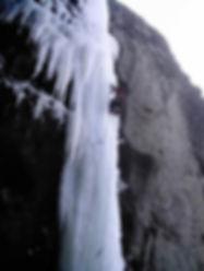 Ice Climb Silver Gate Montana