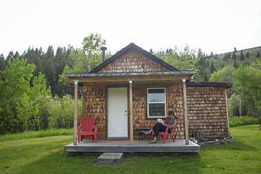 Montana Remote Cabin Lodging