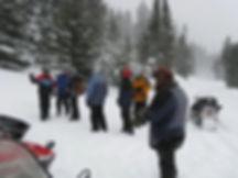 Backcountry SnowMobiling Beartooth