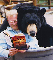 Author with the Bear