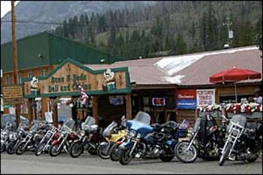 Motorcycle scenic routes in Montana