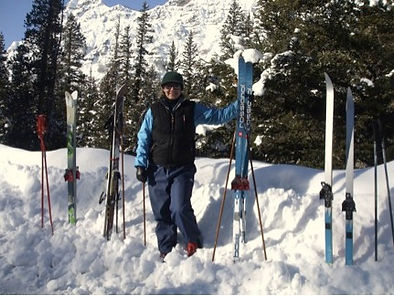 Cross Country Skiing Around Yellowstone NAtional Park