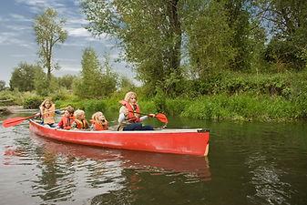 Canoe Near Yellowstone National PArk