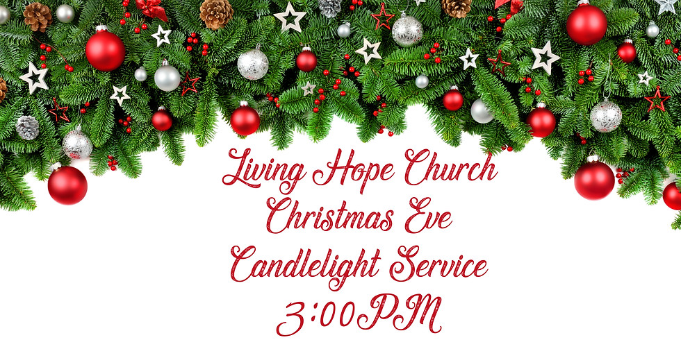 3:00PM Christmas Eve Services 2020