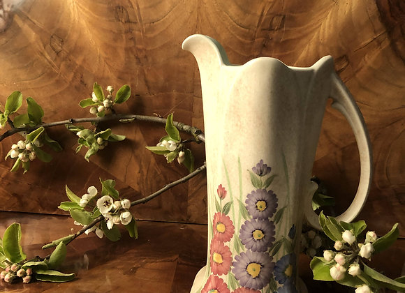 E Radford Hand Painted PotteryJug