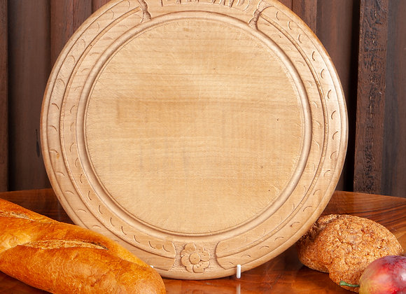 Victorian Carved Breadboard