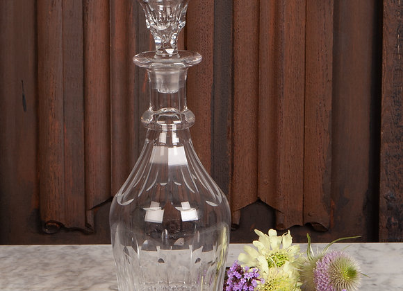 Early Victorian Mallet Shaped Decanter