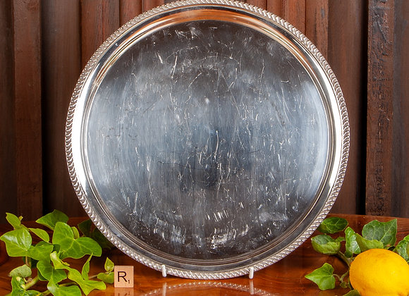 An Early 20th Century Silver Plated Tray or Salver