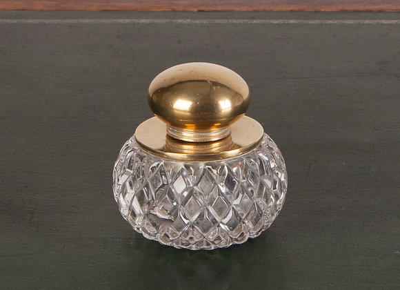 Fine Quality Glass Inkwell