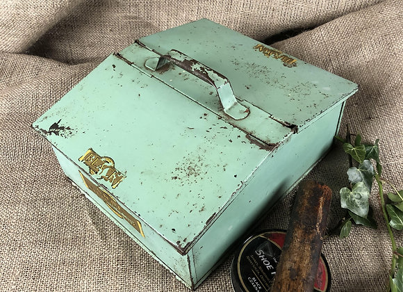 Tin Plate Shoe Ceaning Box