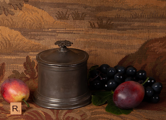 Early 19th Century Pewter Tobacco box