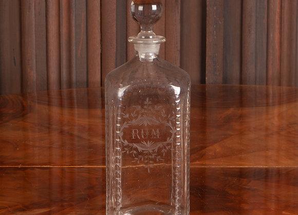 A Georgian Rum Decanter
