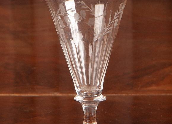 An Georgian Engraved Glass