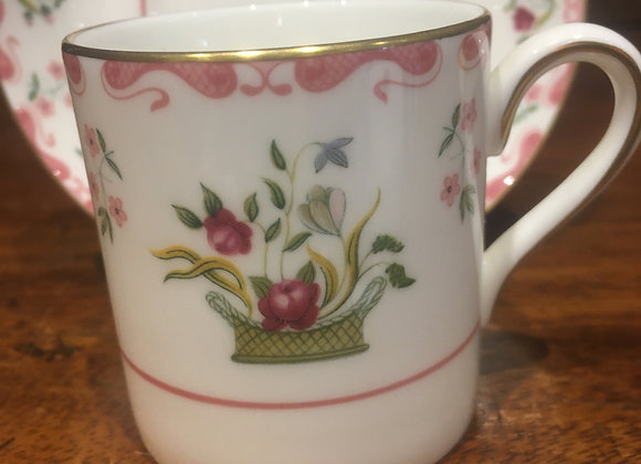 Wedgwood Coffee Can and Saucer