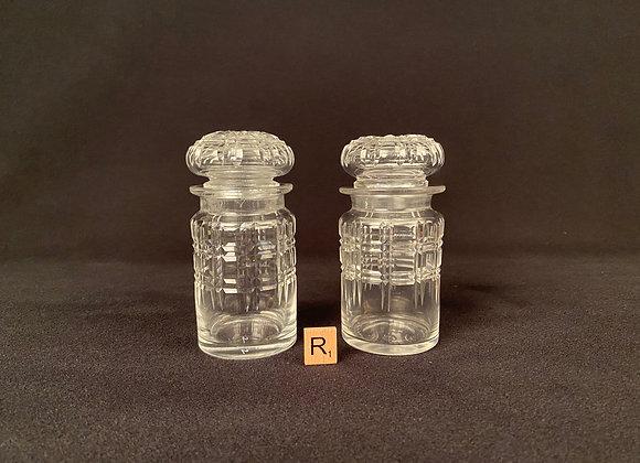 Cut Glass Lidded Jar
