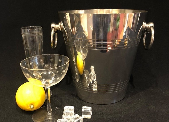 French Silver Plated Champagne Bucket