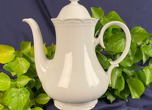 Late 19th Century Ironstone Coffee Pot