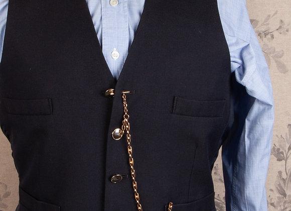 A Victorian Pocket Watch Chain