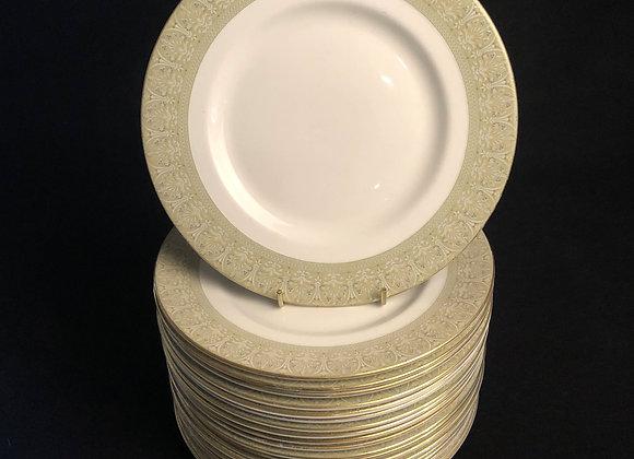 20 Royal Doulton Breakfast Plates