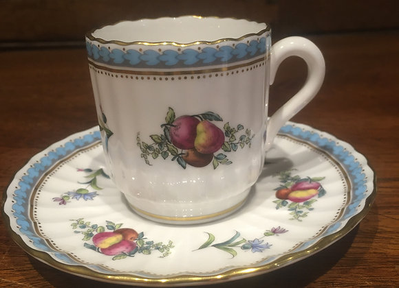 Spode Coffee Can and Saucer