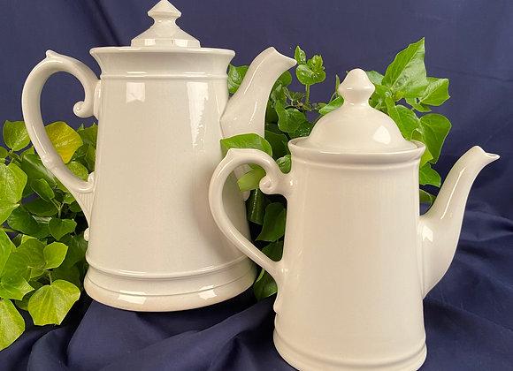 Ironstone Coffee Pot Early 20th Century