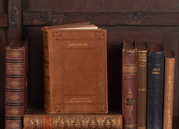 A Group of 7 Assorted Books Early 20th Century