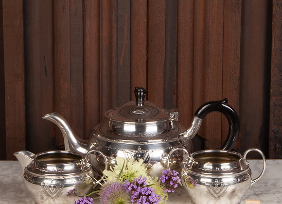 Early 20th Century Silver Plated Tea Set